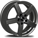 City 7,0X17/40 5-112 CB 57,1 Dark anthracite glossy